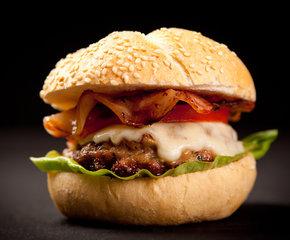 Hamburger-Italiaanse bol