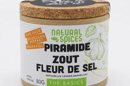 Natural Spices Piramidezout   Fleur de Sel