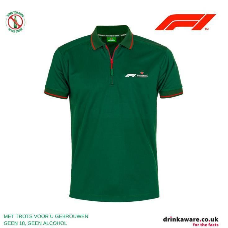 Heineken Polo uomo Heineken Formula 1 2018