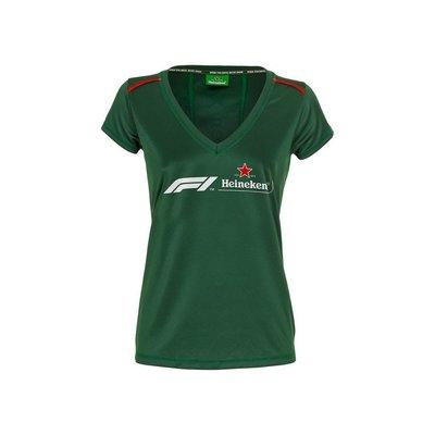 Heineken T-shirt donna Heineken Formula 1 2018