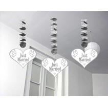 Folat - Hangdecoratie - Just Married - 3m