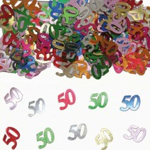 Folat - Tafeldecoratie/confetti - 50 Jaar - 14gr.