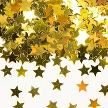 Folat - Tafeldecoratie/confetti - Sterretjes - Goud
