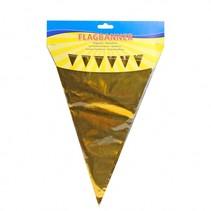 Folat - Vlaggenlijn - Goud - 10m
