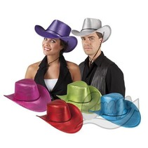 Folat - Cowboyhoed - Glimmend - 1st. - Willekeurig geleverd