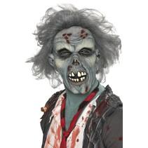 Smiffys - Masker - Zombie - Rottend - Latex - Grijs
