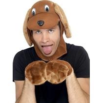 Smiffys - Muts & handschoenen - Hond