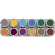 Grimas - Water make-up - Palet B - Dieren - 12x2,5ml