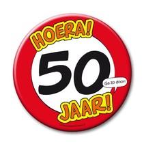 Paperdreams - Button XL - 50 Jaar