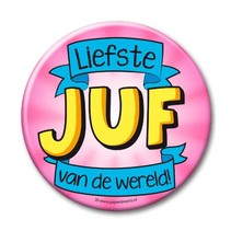 Paperdreams - Button XL - Juf
