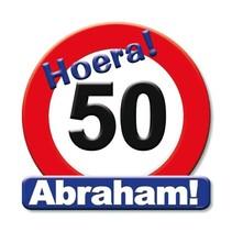 Paperdreams - Huldeschild - 50 Jaar Abraham