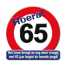 Paperdreams - Huldeschild - 65 Jaar