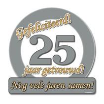 Paperdreams - Huldeschild - Special - 25 Jaar getrouwd