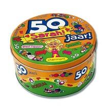 Paperdreams - Snoeptrommel - 50 Jaar - Sarah