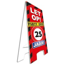 Paperdreams - Warning sign - 25 Jaar