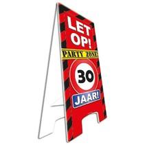 Paperdreams - Warning sign - 30 Jaar