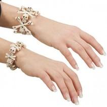 Partychimp - Armband - Skeletten/botten