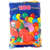 PartyXplosion - Ballonnen - Assorti - 27cm. - 100st.