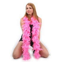 PartyXplosion - Boa - Donker roze - 180cm/75 gram