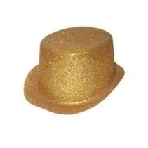 PartyXplosion - Hoed - Hoge hoed - Plastic - Glittergoud
