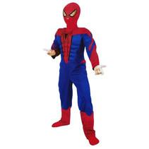 PartyXplosion - Kostuum - Spiderman - mt.128