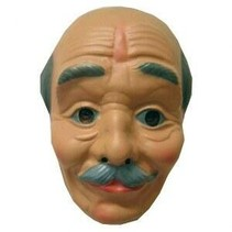 PartyXplosion - Masker - Opa - Kaal hoofd met snor