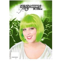 PartyXplosion - Pruik - Sensation - Bobline - Groen