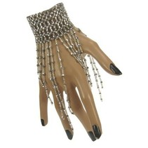 PartyXplosion - Armband - Steentjes - Zilver