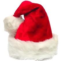 PartyXplosion - Kerstmuts - Luxe - Met bont