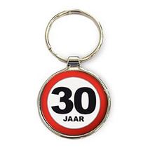Miko - Sleutelhanger - 30 Jaar - Rond