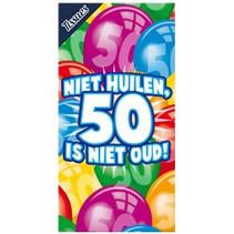 Miko - Tissuebox - Niet huilen, 50 is niet oud!