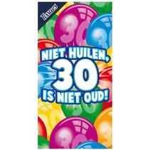 Miko - Tissuebox - Niet huilen, 30 is niet oud!