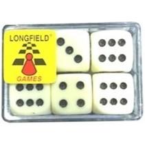 Longfield - Dobbelstenen - 6st.