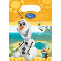 Folat - Uitdeelzakjes - Frozen - Olaf - 6st.