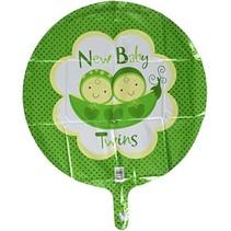 Anagram - Folieballon - New baby twins - Zonder vulling - 43cm