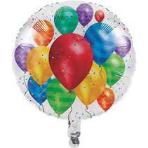 Witbaard - Folieballon - Ballonnen - Zonder vulling - 43cm**