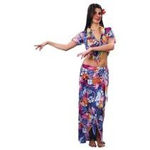 Twisk - Kostuum - Jurk - Hawaii - Incl. asseccoires - M/XL
