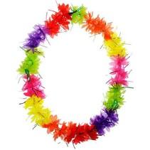 Folat - Hawaiikrans - Gekleurd - Met glitters