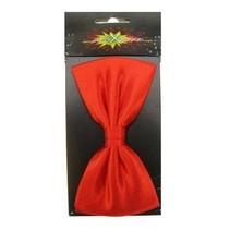 PartyXplosion - Luxe strik - Satijn - Rood