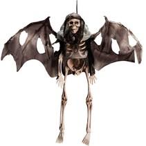 Partychimp - Skelet - Hangend - Met vleugels - 35cm