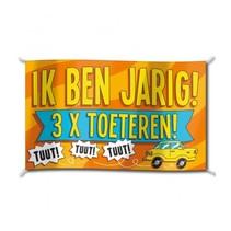 Paperdreams - Vlag - Ik ben jarig - 150x90cm