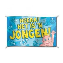Paperdreams - Vlag - Hoera, jongen - 150x90cm