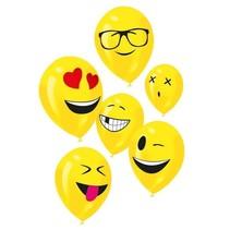 Goodmark - Ballonnen - Emoticons - 6st.