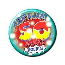 Paperdreams - Button - Klein - 50 Jaar - Abraham