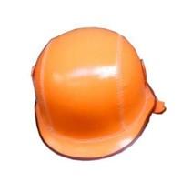 Smiffys - Helm - Piloot - Oranje - PU leder - Incl. bril