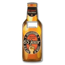 Paperdreams - Bieropener -  65 Jaar