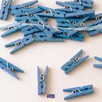 Folat - Knijpers - Baby - Blauw - 24st.