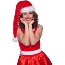Folat - Kerstmuts - Lang - Bont