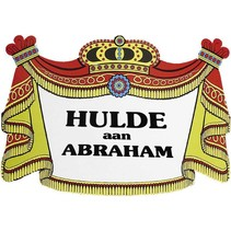 Witbaard - Huldeschild - Hulde aan Abraham
