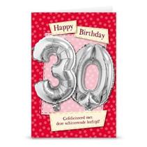 Miko - Kaart - Leeftijdballon - 30 Jaar